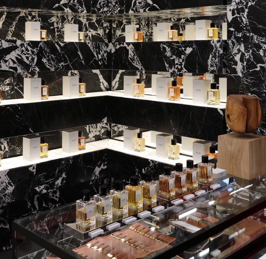 Fotografía Alta Perfumería Celine París | Boutique Hedi Slimane París
