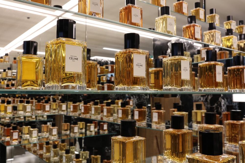 Boutique Celine Perfumería París | Fotografía Producto Lujo