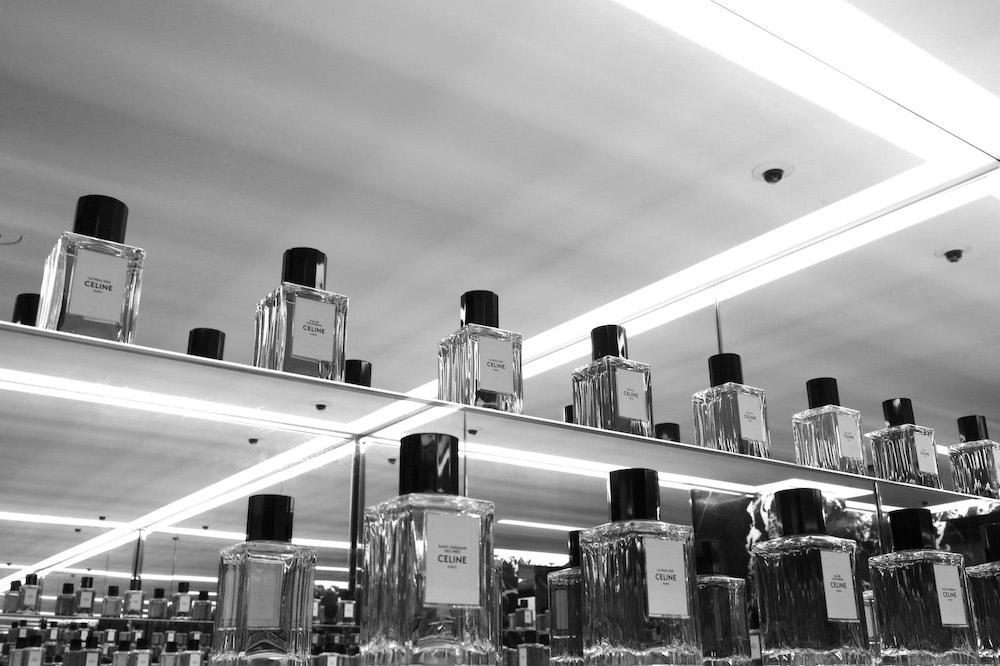 Reportaje Fotografía Boutique Celine | Fotógrafo Perfume Madrid
